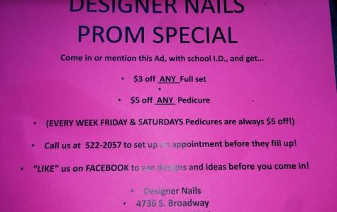 Designer Nails Prom Special